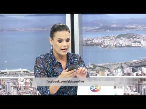 Comentaristas do SBT Meio-Dia debatem sobre a segurança em Santa Catarina