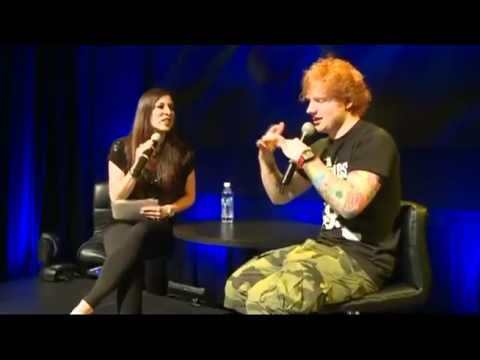 Ed Sheeran - Toronto Radio Webcast part 1/3