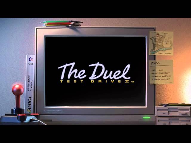 Amiga music: Test Drive II intro (Dolby Headphone + speaker optimized)