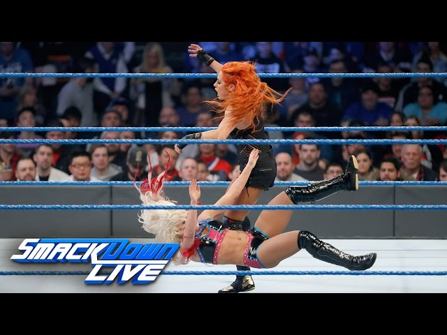 Alexa Bliss vs. Becky Lynch – Women's Title Match: SmackDown LIVE Wild Card Finals, Dec. 27, 2016