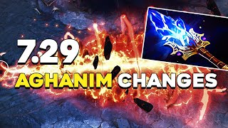 7.29 PATCH UPDATE Dota 2 - ALL NEW AGHANIM'S SCEPTERS! (REWORKED + CHANGES)