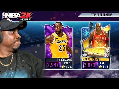 1ST NBA 2K MOBILE SEASON 2 PACK OPENING! Ep. 1