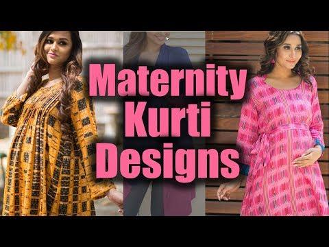 Maternity Wear | Designer Kurtis For Pregnant Girls | Kurti For Pregnant Women