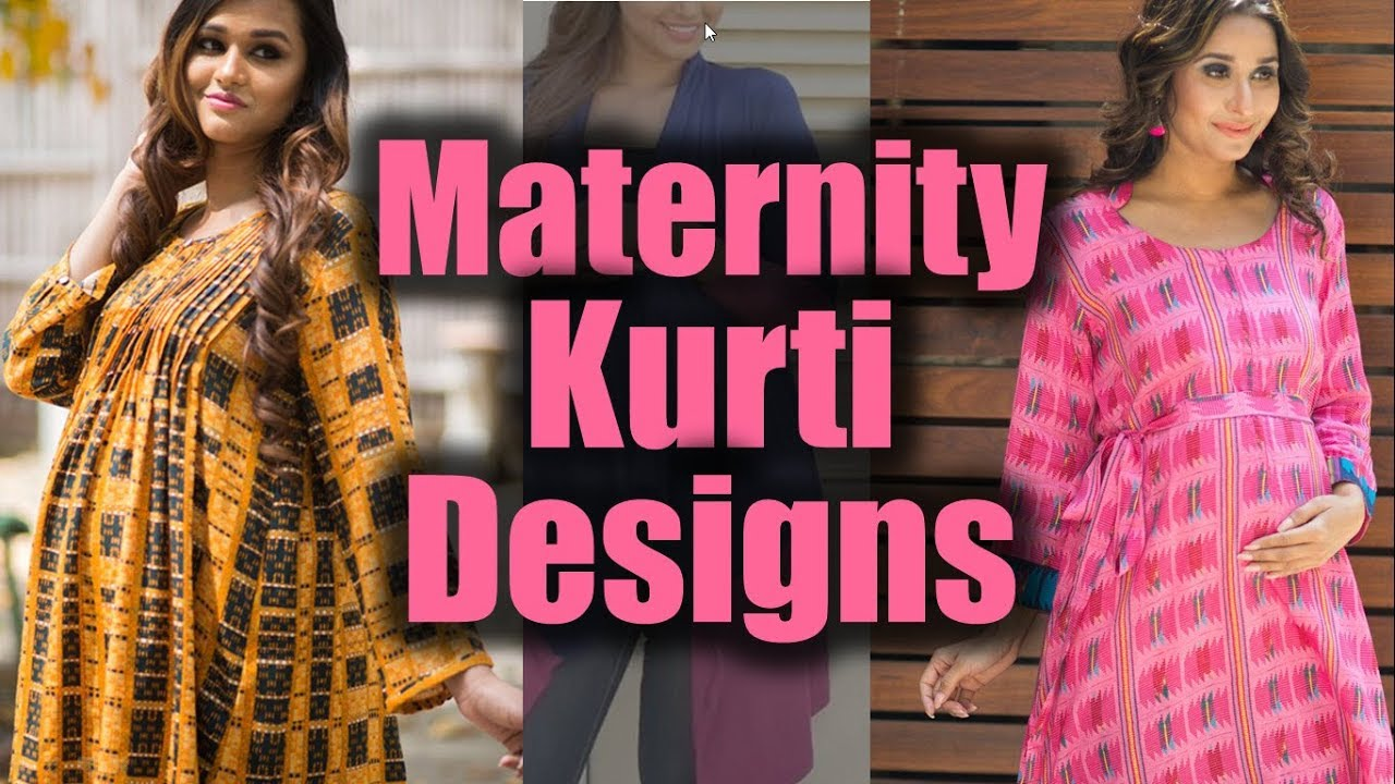 Maternity Wear | Designer Kurtis for Pregnant Girls | Kurti for ...
