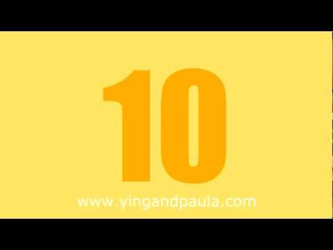 Thai Lesson 4 - How to count 1 to 10
