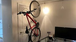 Wall Mount Bike Rack Review - Delta Cycle Leonardo Da Vinci Single Bike Storage Rack Hook Hanger