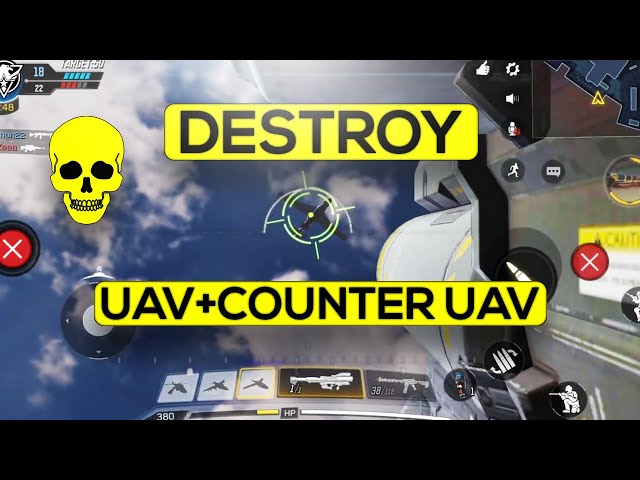 How To Destroy Uav In Call Of Duty Mobile Youtube