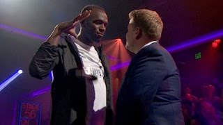 Usain Bolt flashes gold medal rap skills
