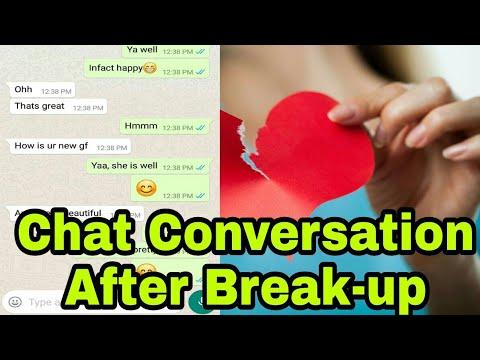 Chat Conversation After Break-up