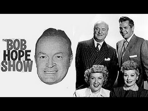 Cast of I Love Lucy on The Bob Hope Show