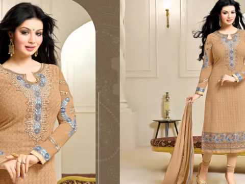Buy Indian dress online - Georgette Salwar kameez