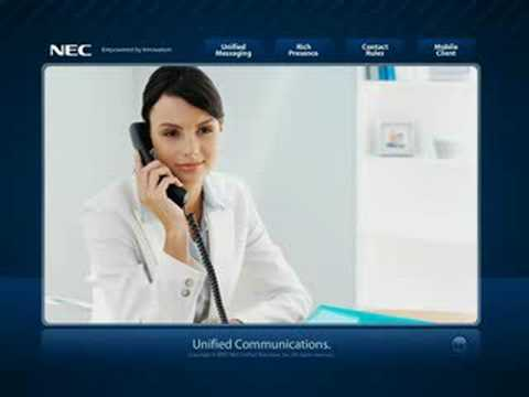 NEC's Unified Communications Demo
