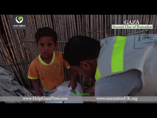 Ramadan in Gaza - Iftaar Distribution - 18 May 2018