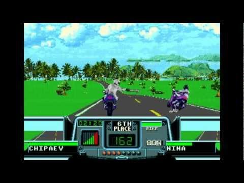 Road Rash 3 Прохождение (Sega) - Уровень (4-5) Part 3/3