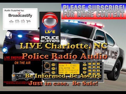 LIVESTREAM Police Audio - Charlotte, North Carolina - Thursday September 22, 2016