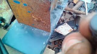 Как отремонтировать разбитую фару (на погрузчик)