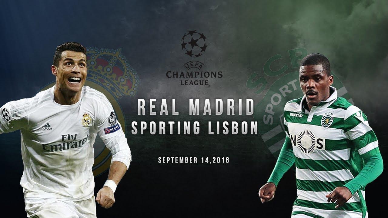 Смотреть футбол реал мадрид спортинг