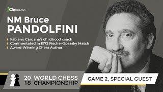 Bruce Pandolfini On Coaching Fabiano Caruana: World Chess Championship Challenger