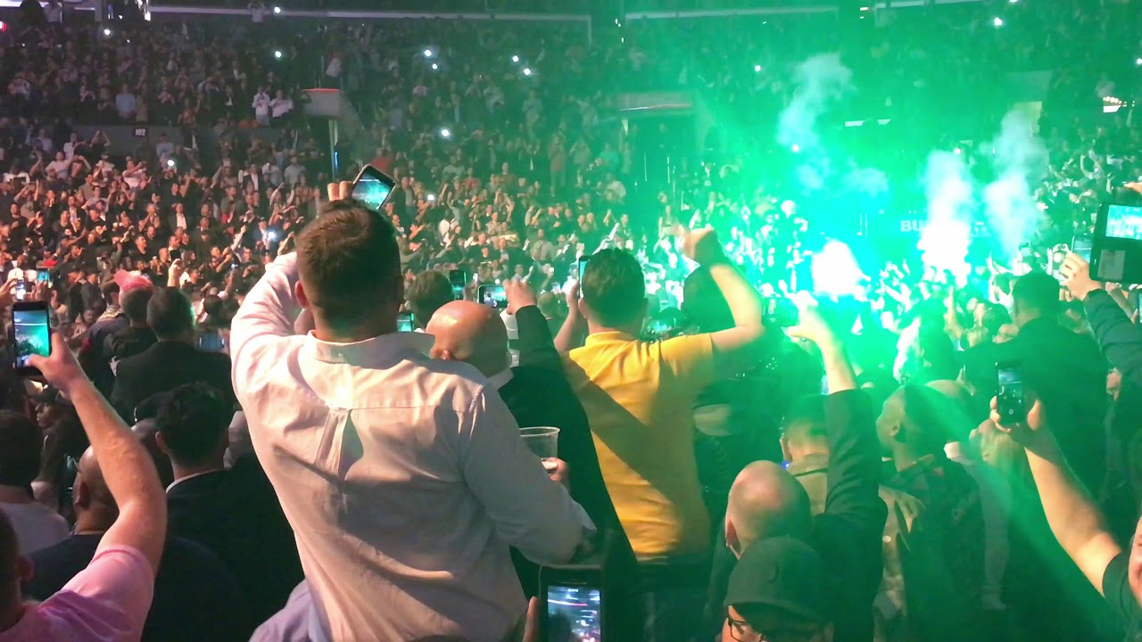 Download Tyson Fury entrance on fight with Deontay Wilder