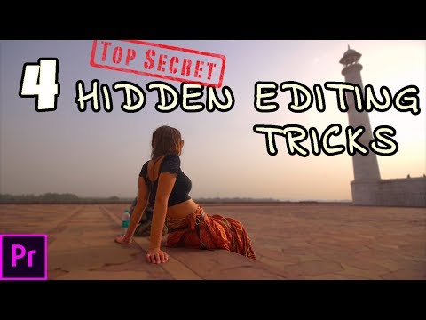 4 new video editing tricks in Adobe Premiere Pro CC | essentials and tutorial |