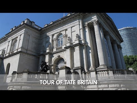 Tour of Tate Britain Museum & Gift Shop