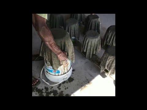 Cara Membuat Pot Tanaman Dari Handuk
