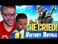 Download I Made My Little Brother CRY From *TROLLING* Him Too Much in Fortnite: Battle Royale