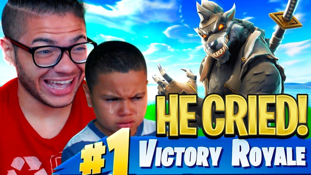i-made-my-little-brother-cry-from-trolling-him-too-much-in-fortnite-battle-royale