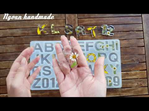 DIY resin with real flowers