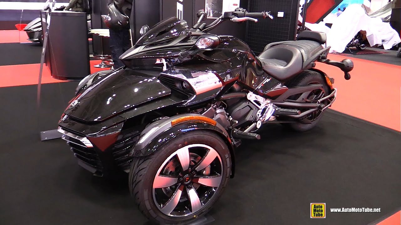 2016 can am spyder f3 s walkaround 2015 tokyo motor. Black Bedroom Furniture Sets. Home Design Ideas