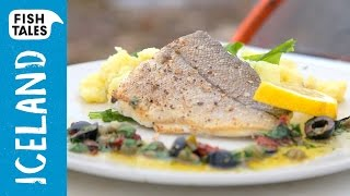 Pan fried HADDOCK with mashed potatoes & Sauce Provençale | Bart