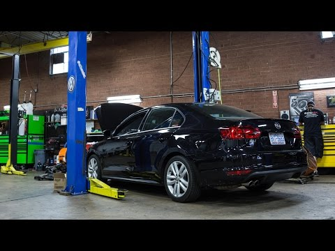 Eurowise Service: VW GLI 2.0T Carbon Intake Cleaning