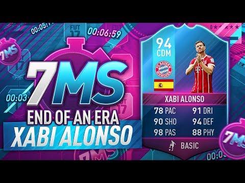 END OF AN ERA 94 XABI ALONSO!!! THE BEST MIDFIELDER ON FIFA!