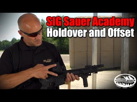 Holdover and Offset - AR and Red Dot - Shooting Tips from SIG SAUER Academy