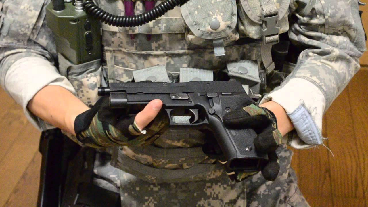 サバゲチーム Fireskull 武器紹介 GBB SIG P226 二丁比較