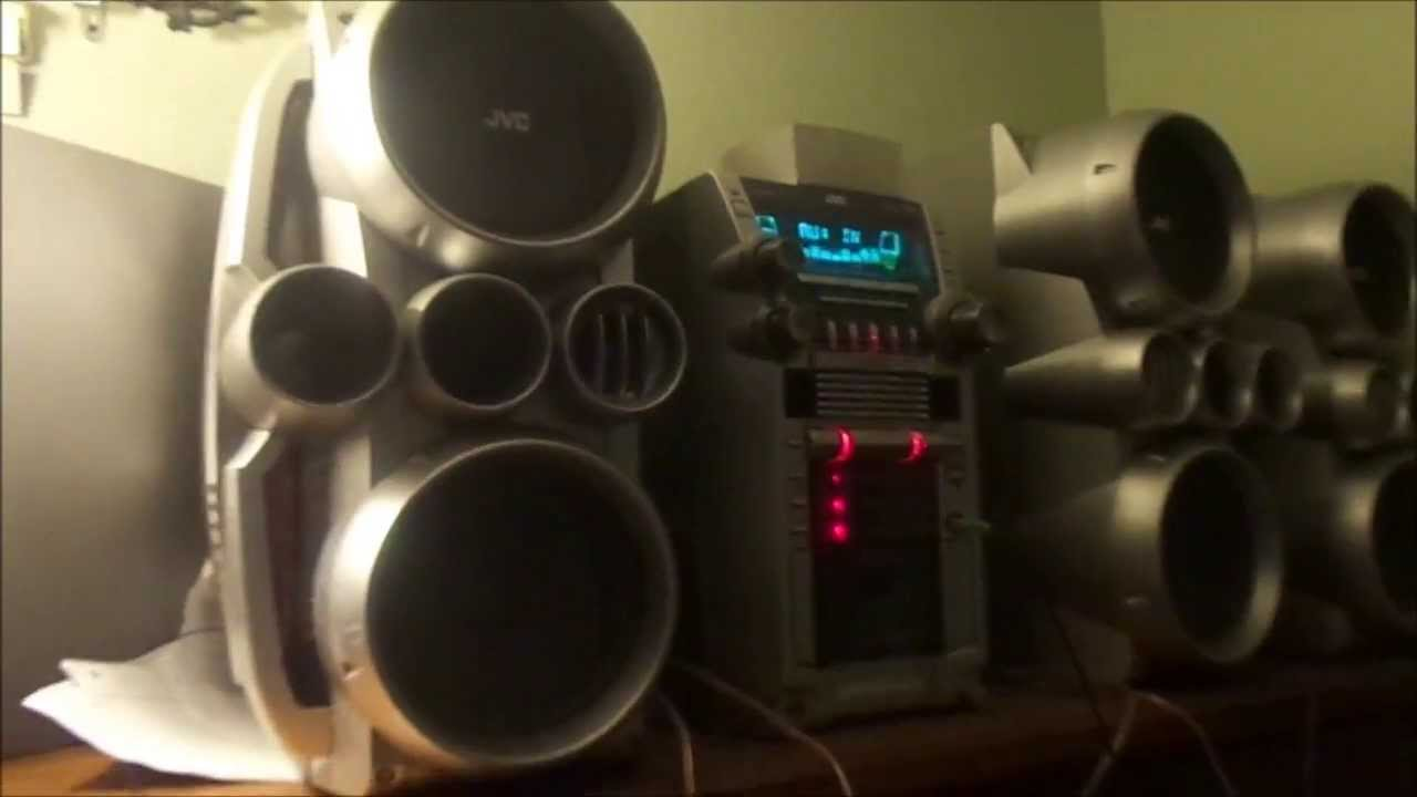 jvc hx stereo system dubstep bass test youtube. Black Bedroom Furniture Sets. Home Design Ideas
