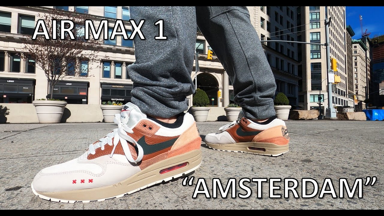 Air Max 1 Amsterdam City Pack - Review/Onfeet