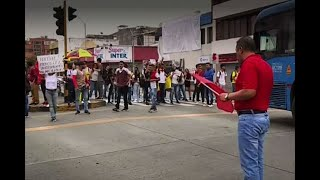 Así reaccionaron manifestantes ante ausencia del ESMAD en marchas que fueron pacíficas en Cali