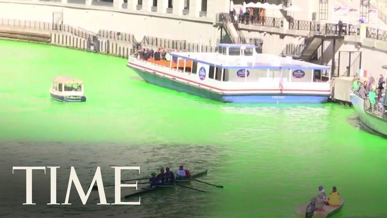The St. Patrick's Day Green River Is a True Meme Dream Come True