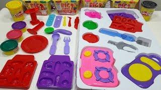 Mainan Anak Membuat BARBEQUE 💖 Fun Doh BARBEQUE dengan Efek Suara 💖 Let's Play Jessica Jenica
