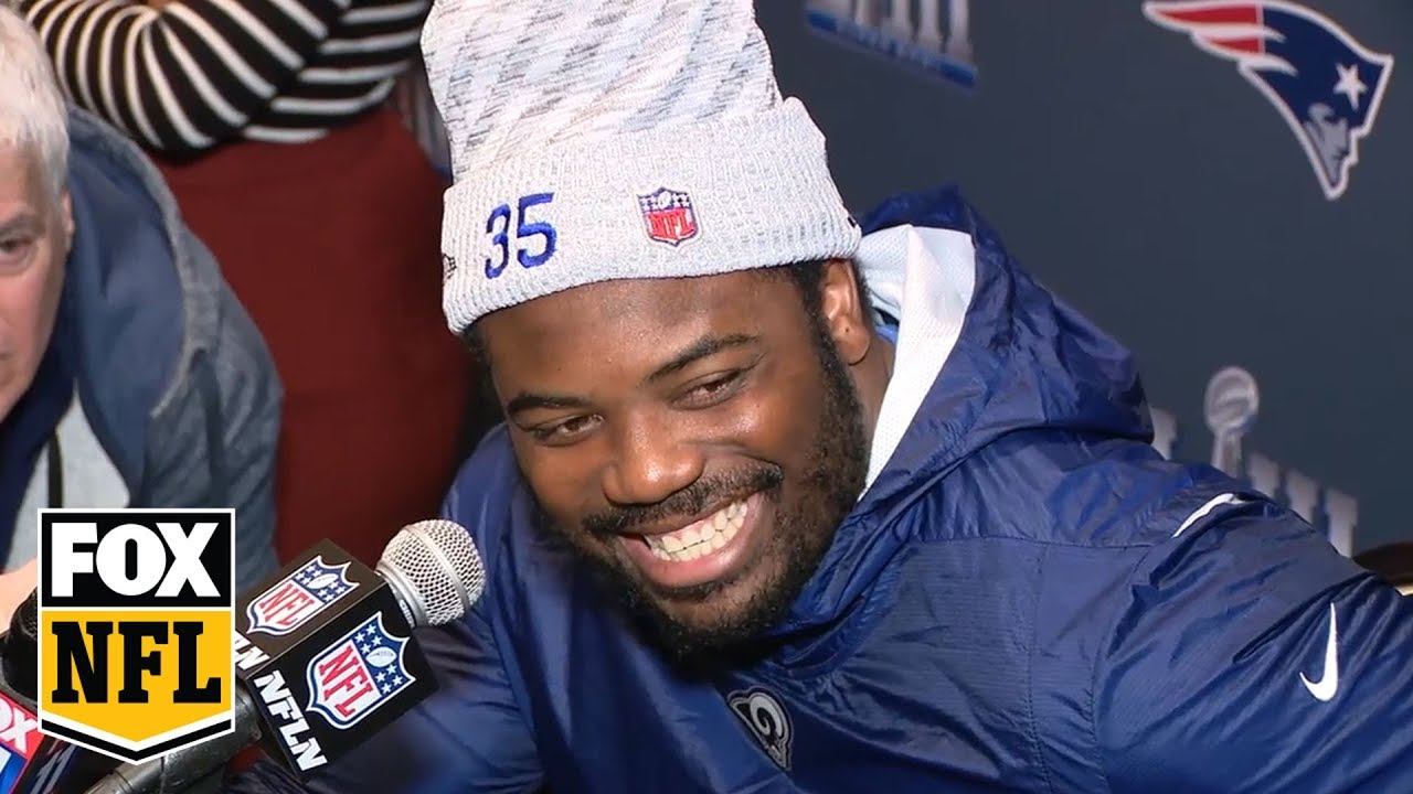 C.J. Anderson on weight: 'Fat. Thick. I don't care… just meet me in the hole one day.' | FOX NFL #1