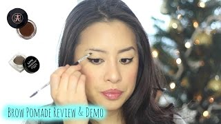 Anastasia Dipbrow Pomade vs NYX Tame & Frame Review and Demo | Brow Pomade Smackdown