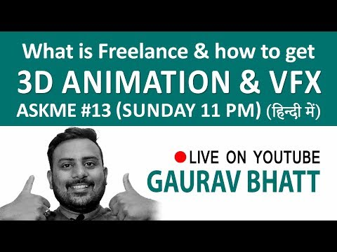 what is freelance, how to get animation & vfx freelance work