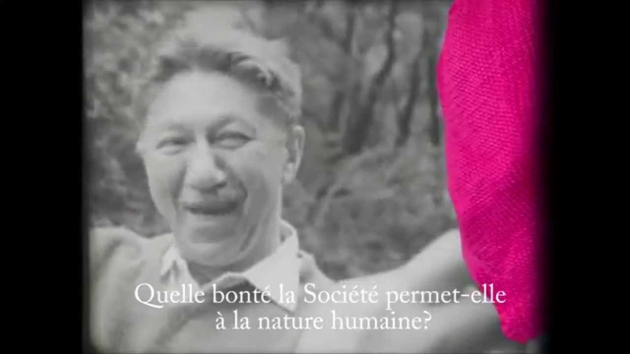 Interview Abraham Maslow (sstitres Français), le bien, le mal et le pyramidal