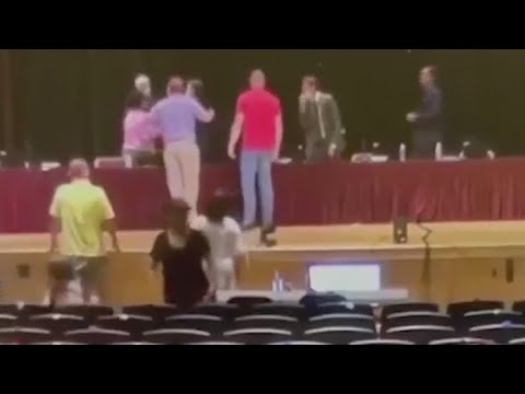 """""""Heated"""" exchange interrupts Penfield Board of Education meeting"""