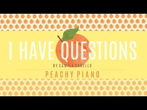 I Have Questions - Camila Cabello | Piano Backing Track