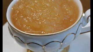 Яблочное пюре на зиму/Детское питание