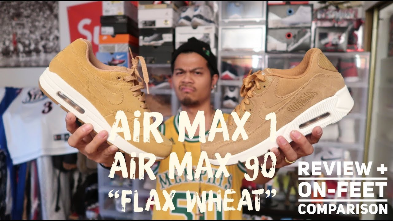 Unboxing Nike Flax Pack AIr Force 1, Air Max 90, Uptempo