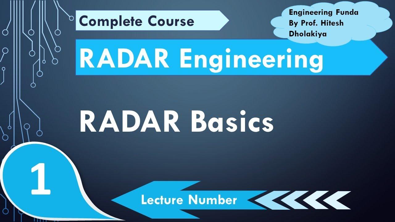 Radar Basics Working Applications Radar Engineering