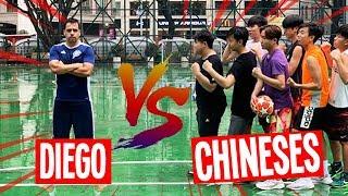 DESAFIO NA CHINA: DIEGO VS CHINESES (QUEM LEVOU ESSA?)